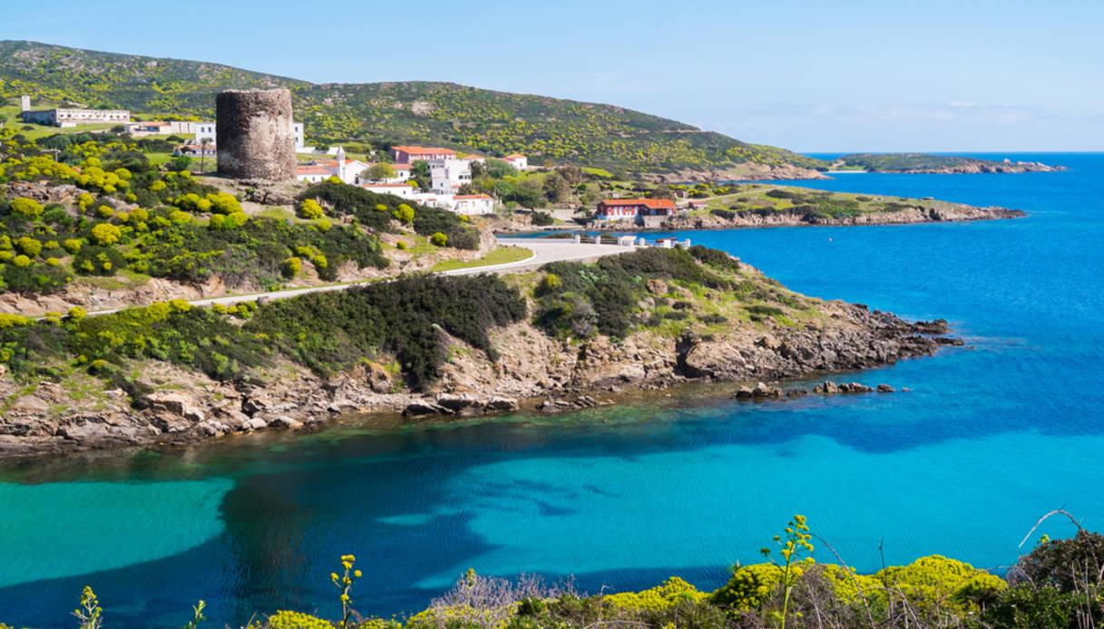 Asinara island in Sardinia, Italy